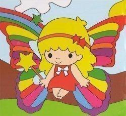 Детский набор для рисования на подрамнике № 18