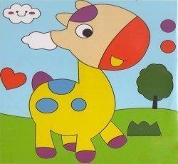 Детский набор для рисования на подрамнике № 2