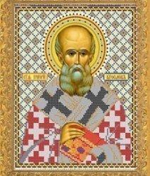 """Рисунок на ткани для вышивания бисером Бис 764 """"Святой Григорий"""""""