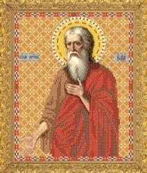 """Рисунок на ткани для вышивания бисером Бис 831 """"Святой Пророк Илья"""""""