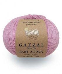 Пряжа Baby alpaca Gazzal