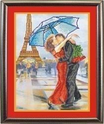 """Набор для вышивания бисером БВБ-8028 """"В Париже"""""""