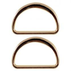 Полукольцо металлическое №A076 3см