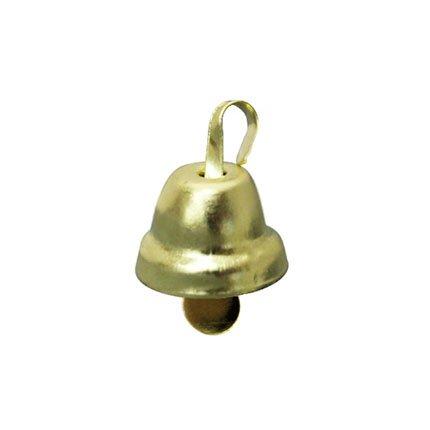 Колокольчик д.1,1см (глянц., золото)