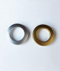 Люверс шторный матовое золото/серебро  3см