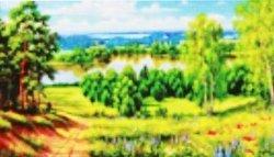 Набор-картина со стразами на подрамнике 036/1МВ
