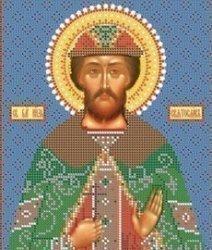 """Набор для вышивания бисером 8776 """"Св. Святослав"""""""