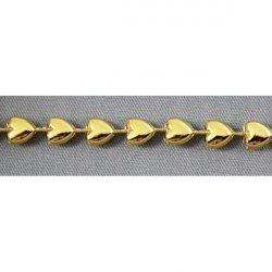 Тесьма со стразами А26 (золото)