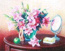 Набор-картина со стразами на подрамнике 0034/1В
