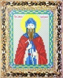 """Набор для вышивания бисером ВБ-241 """"Икона Святого Давида Серпуховского"""""""