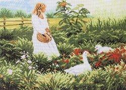 Схема для вышивания нитью мулине 0363