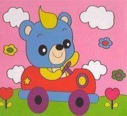 Детский набор для рисования на подрамнике № 13