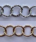 Цепь металл 15 мм. 2.0OBL (20м.)