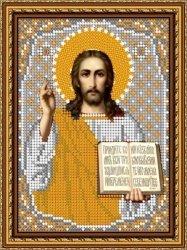 Pисунок на ткани для вышивания бисером 458М «Господь Вседержитель»