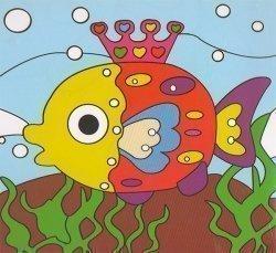Детский набор для рисования на подрамнике № 4