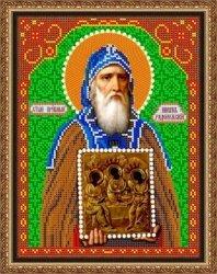 """рисунок на ткани для вышивания бисером Бис 827 """"Св. Никон"""""""