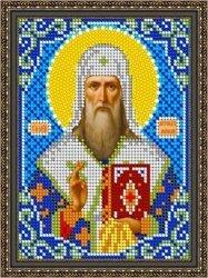 Pисунок на ткани для вышивания бисером 845М «Св. Алексей Митрополит Московский»
