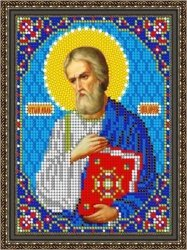 Pисунок на ткани для вышивания бисером 848М «Св. Яков»