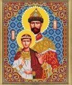 """Рисунок на ткани для вышивания бисером Бис 832 """"Св. Царь Николай"""""""