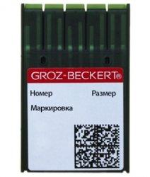 Иглы на промышленную швейную машинку GROZE-BECKERT для прямострочки DPx5