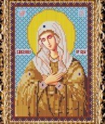 """Набор для вышивания бисером СВБ-306 Икона Пресвятой Богородицы """"Умиление"""""""