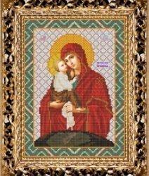 """Набор для вышивания бисером СВБ-341 """"Икона Божьей Матери Почаевская"""""""