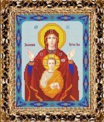 """Набор для вышивания бисером СВБ-373 """"Икона Пресвятой Богородицы Знамение"""""""