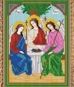 """Набор для вышивания бисером СВБ-392 """"Икона Святой Троицы"""""""