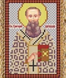 """Набор для вышивания бисером ВБ-112 """"Икона Святого Григория Богослова"""""""
