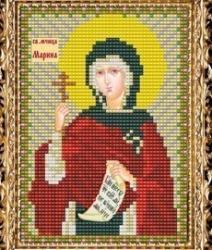 """Набор для вышивания бисером ВБ-133 """"Икона Святой Мученицы Марины"""""""