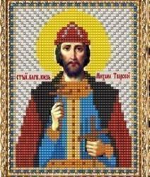 """Набор для вышивания бисером ВБ-134 """"Икона Святого Благоверного Князя Михаила Тверского"""""""