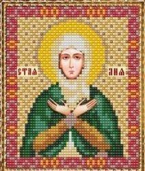 """Набор для вышивания бисером ВБ-145 """"Икона Святой Праведной Праматери Лии"""""""