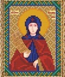 """Набор для вышивания бисером ВБ-162 """"Икона Святой Мелании Римляныни"""""""