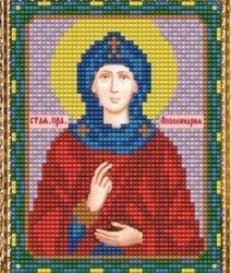 """Набор для вышивания бисером ВБ-190 """"Икона Святой Блаженной Апполинарии"""""""