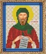 """Набор для вышивания бисером ВБ-197 """"Икона Святого Антония Великого"""""""