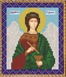 """Набор для вышивания бисером ВБ-212 """"Икона Святого Архангела Рафаила"""""""