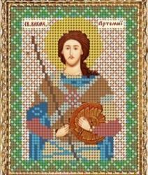 """Набор для вышивания бисером ВБ-214 """"Икона Святого Великомученика Артемия Антиохийского"""""""