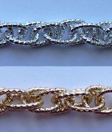 Цепь металл 9 мм. L016 (10м.)