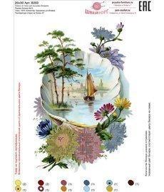 Рисунок на ткани для вышивания бисером ШвейТорг В203