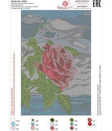 Рисунок на ткани для вышивания бисером ШвейТорг В302