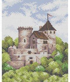 Рисунок на ткани для вышивания бисером ШвейТорг В470