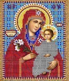 """Набор для вышивания бисером 8421 """"Прсв. Богородица Благоуханный Цвет"""""""