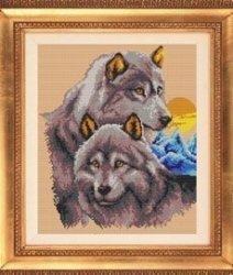"""Набор для вышивания бисером БВБ-835 """"Волчья верность"""""""
