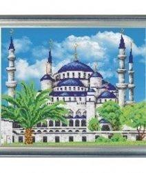 """Набор для вышивания бисером БВБ-890 """"Голубая мечеть"""""""