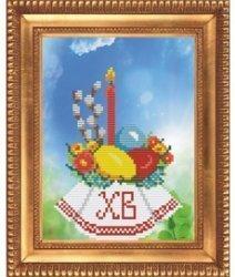 """Набор для вышивания бисером БВБ-915 """"Христос Воскрес"""""""