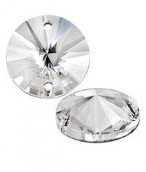 Стразы пришивные Asfour арт.635 12 мм Crystal