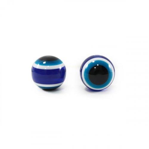 Бусины-Глазки от сглаза 12 мм, 2-стор.