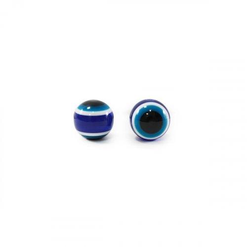 Бусины-Глазки от сглаза 8 мм, 2-стор.