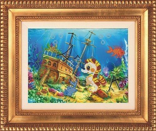 """Набор для вышивания бисером СВБ-533 """"Подводный мир"""""""