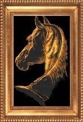 """Набор для вышивания бисером БВБ-849 """"Лошадь"""""""